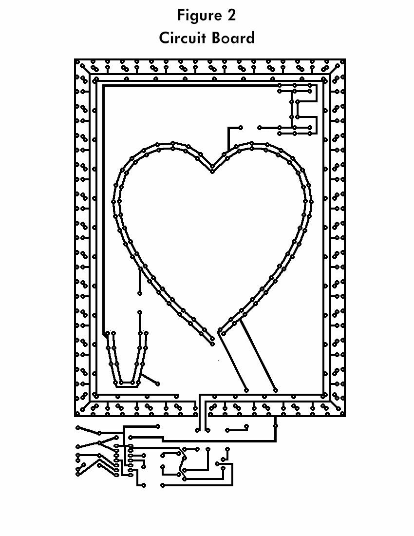 the flashing heart circuit diagrams led flasher circuit circuit schematic diagram