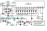6V Ultra-Bright LED Chaser-circuit diagram